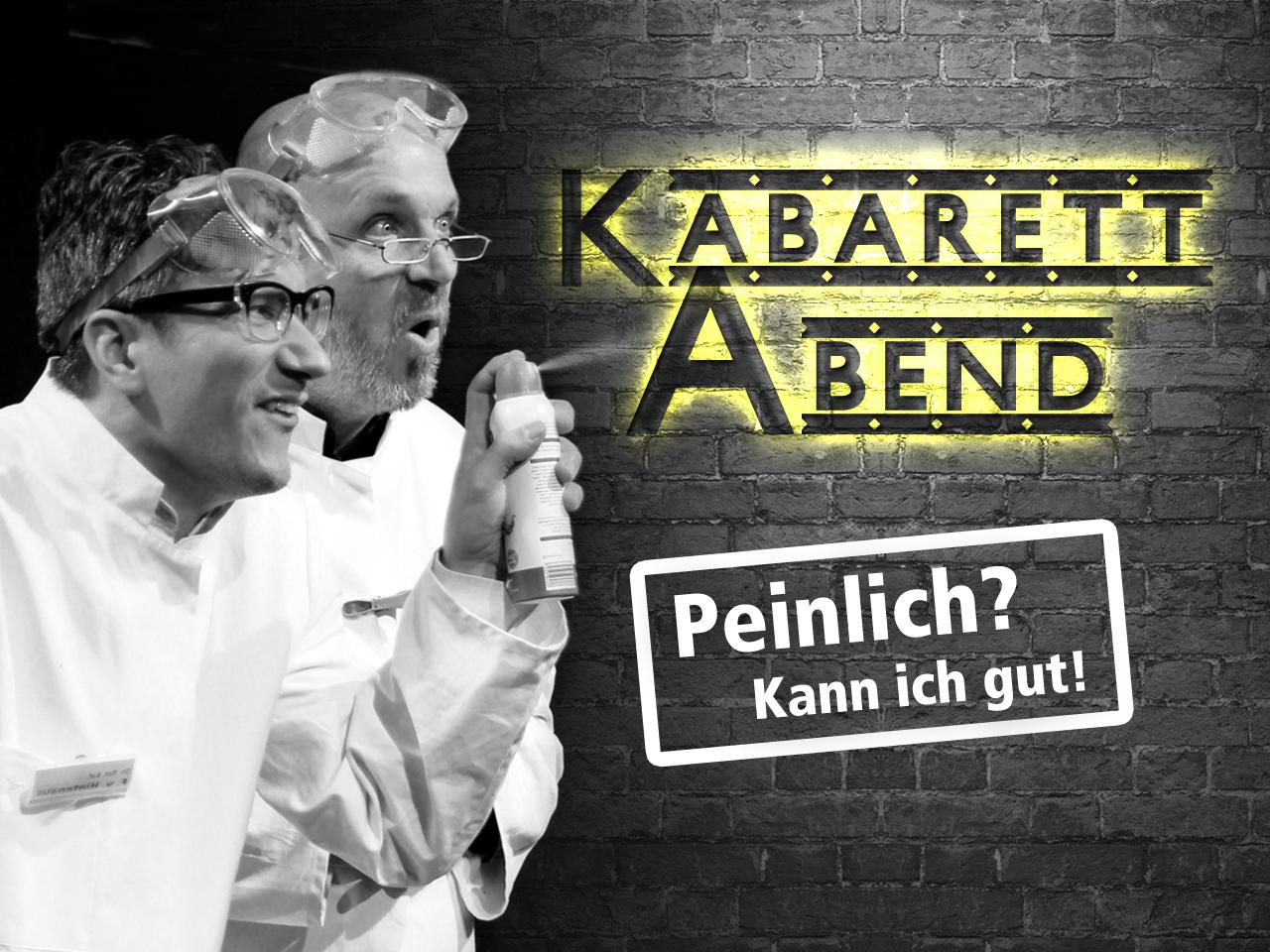 """Kabarett Abend: """"Peinlich? Kann ich gut!"""""""