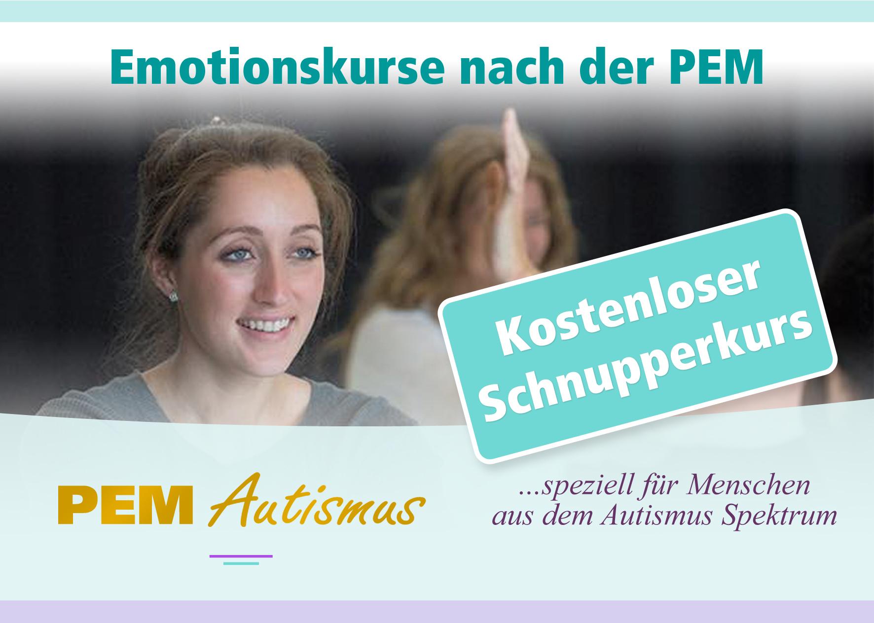 PEM Autismus - Kostenloser Schnupperkurs für Menschen aus dem Autismus Spektrum
